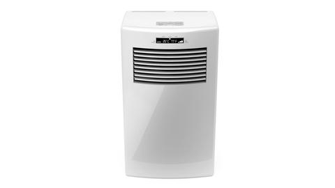 Mobile air conditioner Stock Video Footage