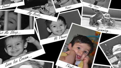 Photo Memories Apple Motion Template