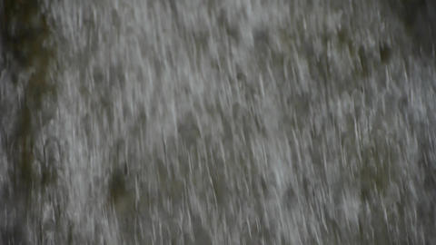 Torrential waterfall & spindrift Stock Video Footage