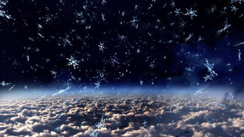 sky night Stock Video Footage