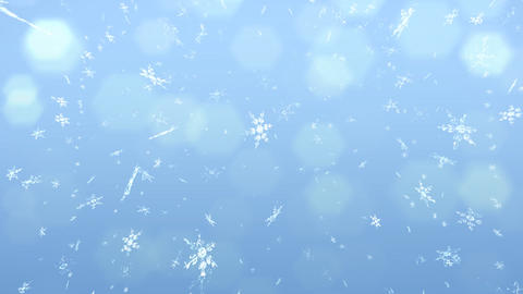 Snow flare background Stock Video Footage
