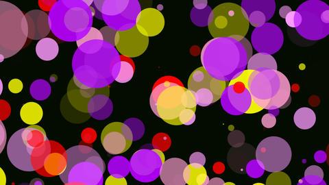 retro circles Animation