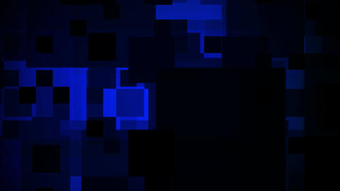 blue shapes Stock Video Footage