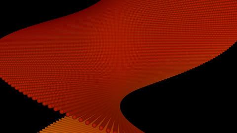 orange twist Stock Video Footage