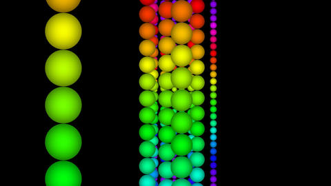 color ball Stock Video Footage