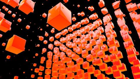 orange box with alpha Animation