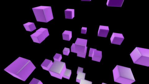 purple box with alpha Animation