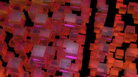 orange array with alpha Animation