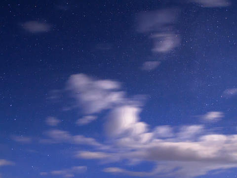Night sky. Time Lapse Footage
