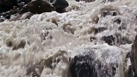 White mountain river (59.94 fps) Footage