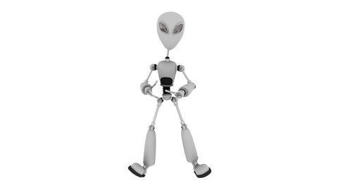 ロボットダンス Stock Video Footage