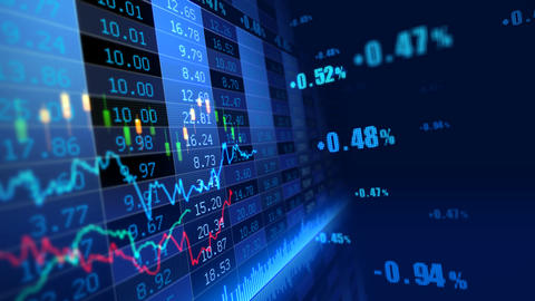 Stock Market 072 Stock Video Footage