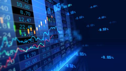 Stock Market 072 Stock Video Footage