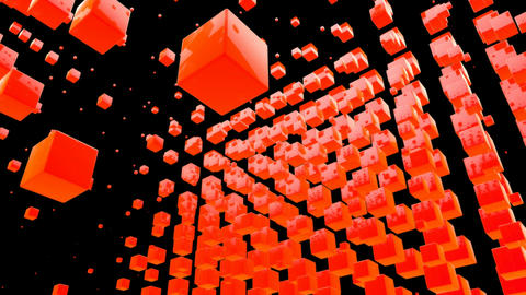 orange box Stock Video Footage