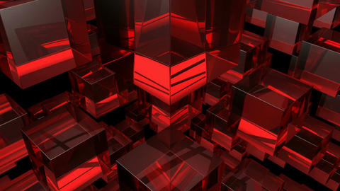 red glass Animation
