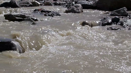 White mountain river Stock Video Footage