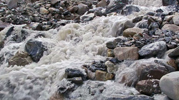 White mountain river (59.94 fps) Stock Video Footage