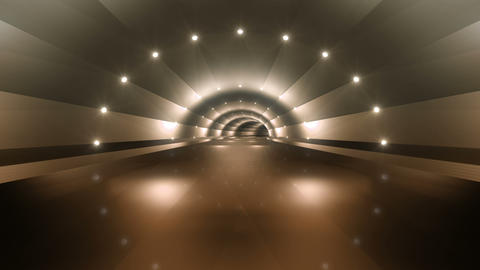 Tunnel tube road a 4b 2 HD Stock Video Footage
