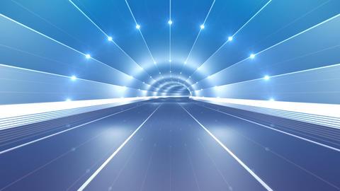 Tunnel tube road c 4b 2 HD Stock Video Footage