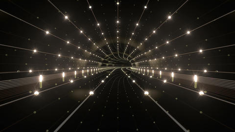 Tunnel tube space road b 4a 3 HD Stock Video Footage