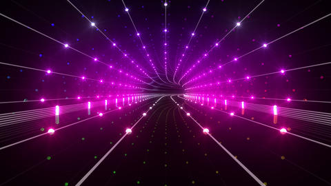 Tunnel tube space road b 4b 2 HD Stock Video Footage