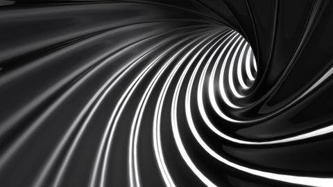Tunnel tube twist a 1a 1 HD Stock Video Footage