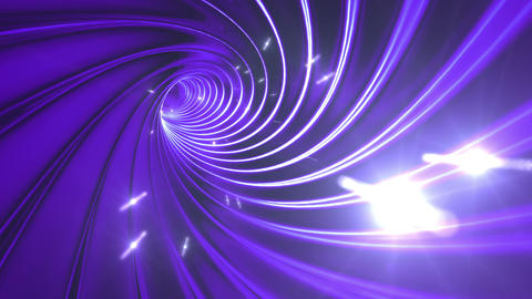 Tunnel tube twist a 1a 3 HD Animation