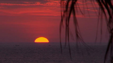 Negombo sunset Footage