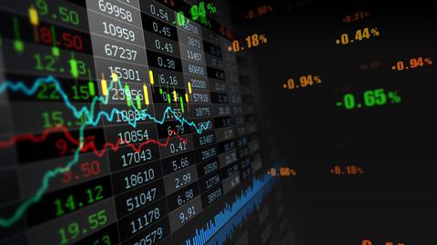 Stock market 076 ภาพเคลื่อนไหว