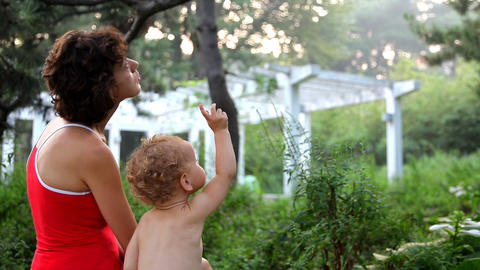 Mother and daughter Stock Video Footage