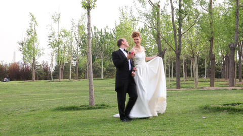 Wedding Couple Stock Video Footage
