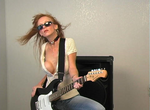 Sexy Rocker Girl Footage