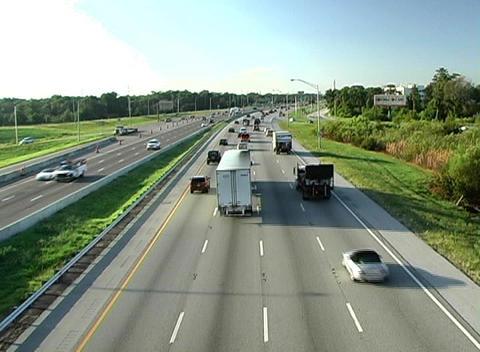 Traffic 2 Stock Video Footage