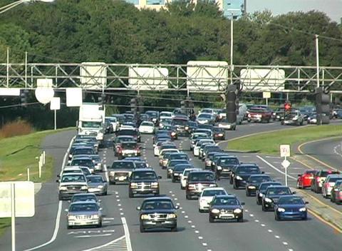 Traffic 4 Stock Video Footage