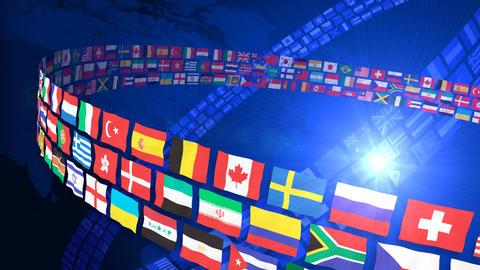 National flag 2 R Bc Animation