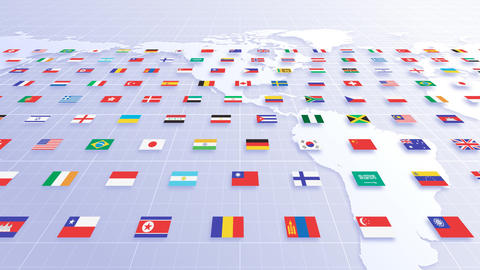 National flag 2 W Aa HD Animation