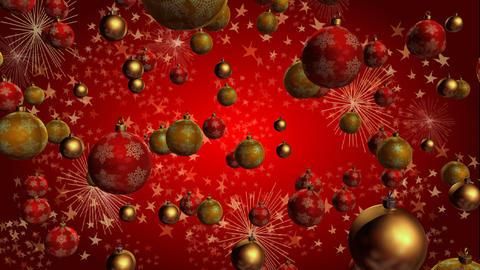christmas ball Stock Video Footage