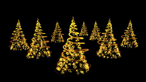 christmas tree 01 Stock Video Footage
