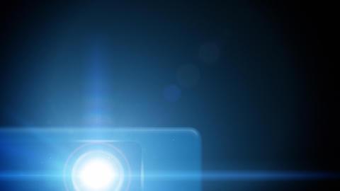 Projector loop Stock Video Footage