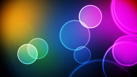 Color circles loop Animation
