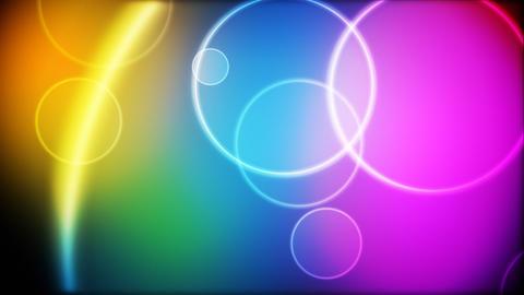 Color circles loop Stock Video Footage