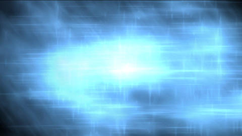 Blurred Blue Light Reflections Stock Video Footage