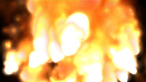 Burning Flames Stock Video Footage