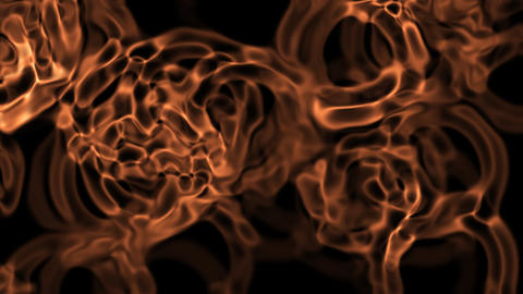 glow cells pattern Stock Video Footage