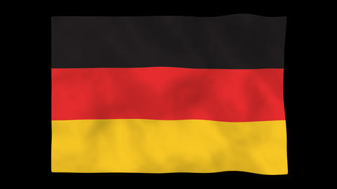 National flag A03 GER HD Animation