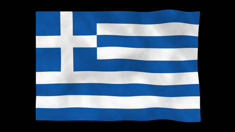 National flag A27 GRE HD Animation