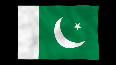 National flag A53 PAK HD Animation