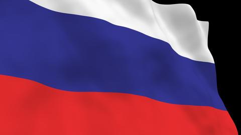 National Flag B10 RUS HD Animation