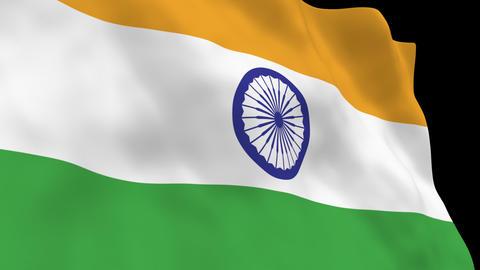 National Flag B12 IND HD Animation