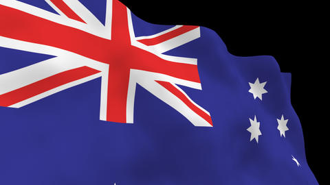 National Flag B14 AUS HD Animation